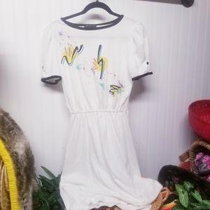 Vintage 80s Colorful Dress